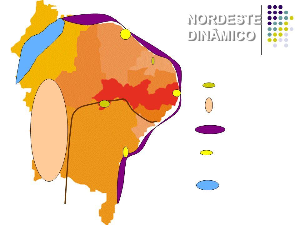 Fruticultura Grãos Turismo Pólo de Carajás Pólos Industriais e de Serviços Modernos NORDESTEDINÂMICONORDESTEDINÂMICO