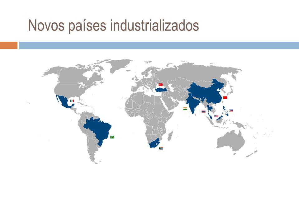 Maiores portos do mundo em movimentação geral de carga e de carga conteinerizada (2003).