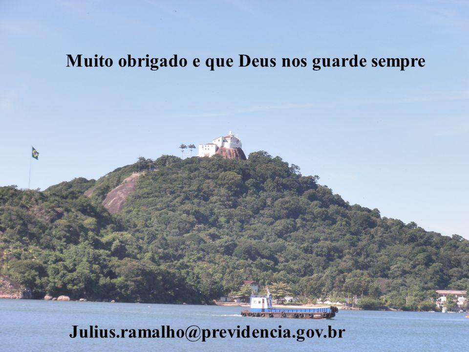 Muito obrigado e que Deus nos guarde sempre Julius.ramalho@previdencia.gov.br