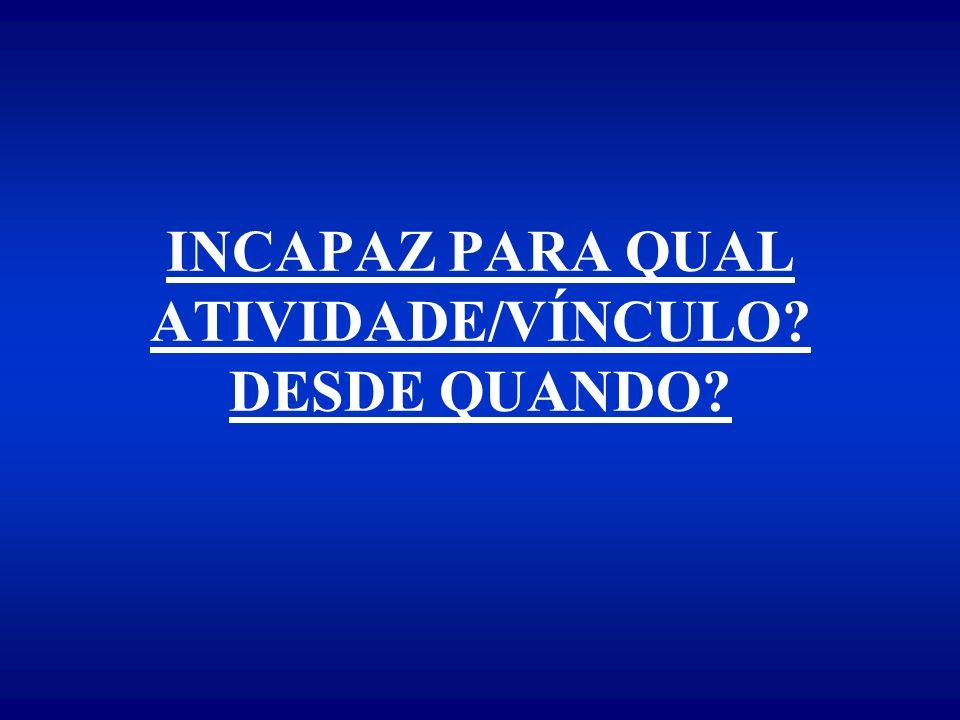 DIAGNÓSTICO PROVÁVEL (LITERAL) CONSIDERAÇÕES SOBRE A CAPACIDADE LABORATIVA COM BASE NO EXAME MÉDICO-PERICIAL CÓDIGO DIAGNÓSTICO LOCAL - DATA - ASSINATURA E CARIMBO DO MÉDICO-PERITO U.E.P.M.
