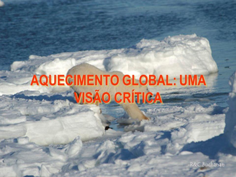 SENSIBILIDADE CLIMÁTICA ONDE λ C É O PARAMETRO DE SENSIBILIDADE CLIMÁTICA, ESTIMADO ATUALMENTE EM 0,7 K / W m -2 Δ T = λ C ΔQ OU SEJA, UMA VARIAÇÃO DE 0,1% NA PRODUÇÃO DE ENERGIA DO SOL( ± 1,4 W m -2 ) CORRESPONDERIA A UMA VARIAÇÃO DE ± 1,0 W m -2 NO BALANÇO DE RADIAÇÃO DO PLANETA TERRA E PRODUZIRIA UMA VARIAÇÃO DE ± 0,7 ° C