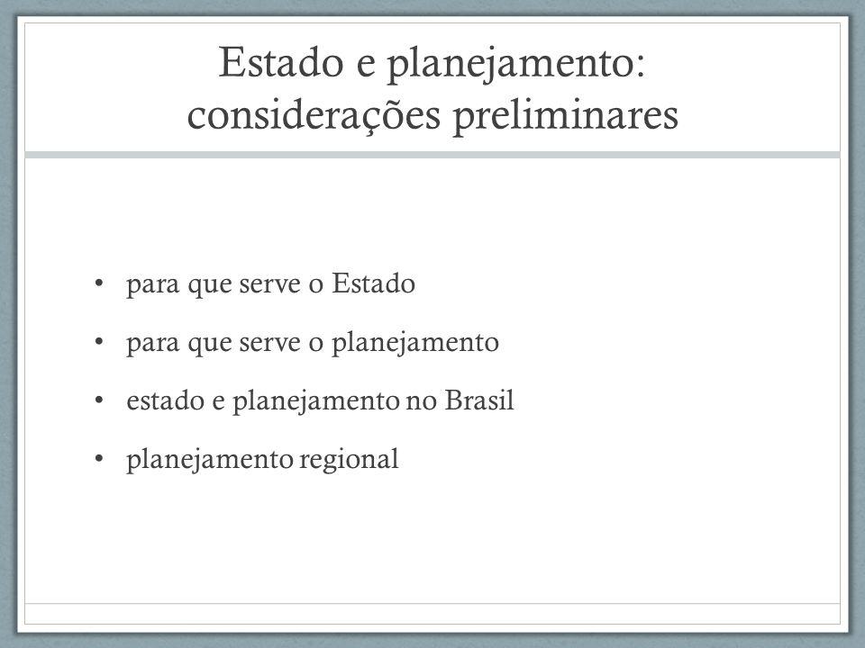 Planejamento regional (antecedentes) Superintendência da Defesa da Borracha (1912) Banco de Crédito da Borracha (1942): atual BASA (1966) Criação da IOCS/IFOCS