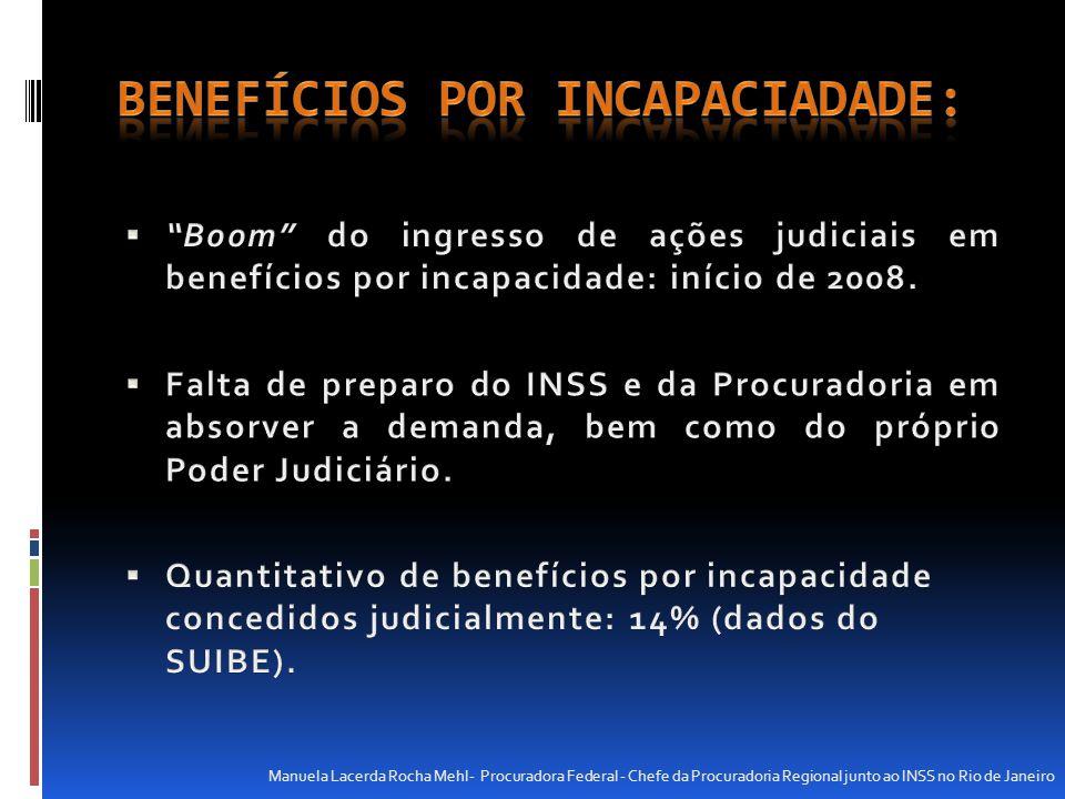 Concessão de benefícios judicialmente onde é clara uma confusão entre incapacidade e doença, já que nem toda doença é incapacitante para o trabalho.