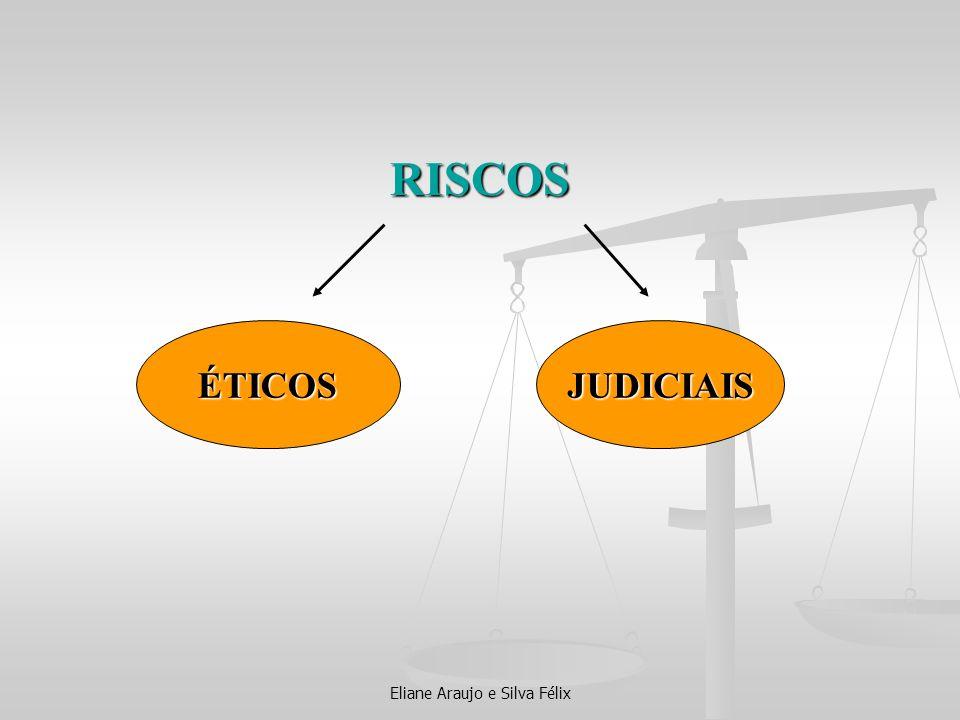 RISCOS ÉTICOSJUDICIAIS