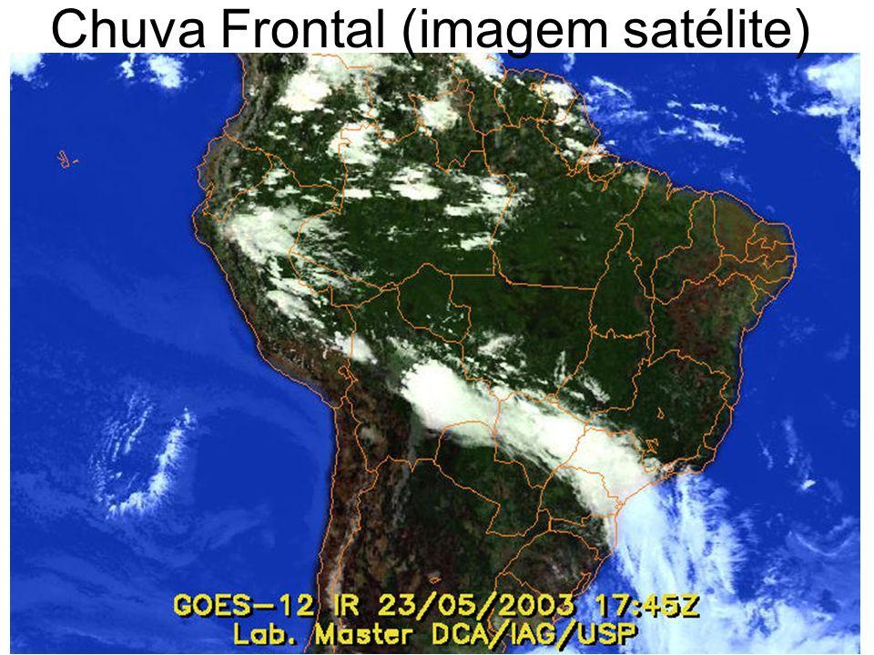 Chuva Frontal (imagem satélite)