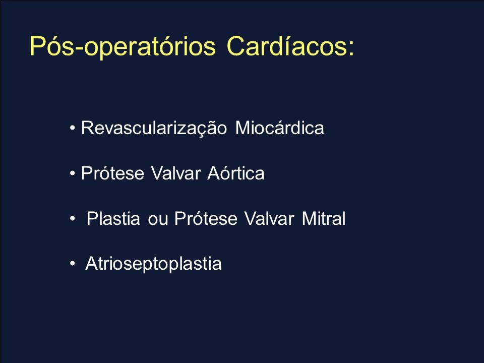 Revascularização Miocárdica Indicações: Lesão TCE ou trivascular principalmente com disfunção VE ou DM.
