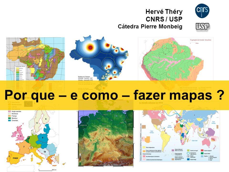 Por que fazer mapas.