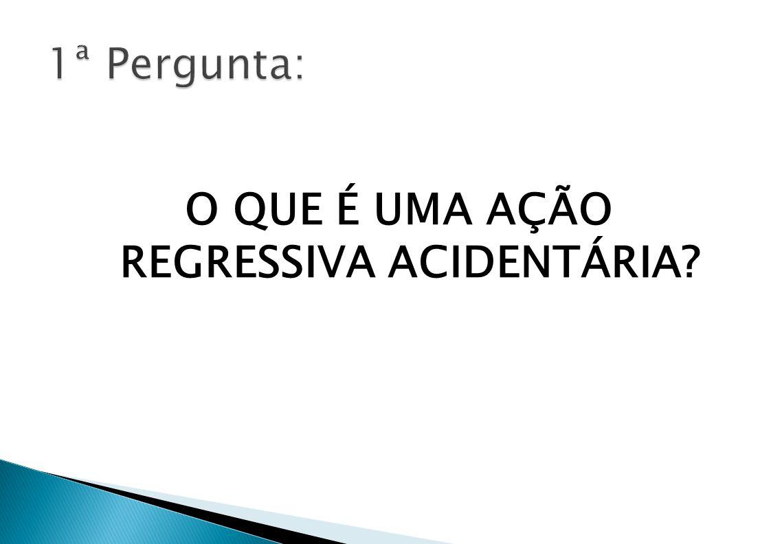 - Resolução CNPS 1291/07 recomendou INSS intensificar ajuizamento de ações regressivas; - Caráter prioritário das ações regressivas instituído na PGF no ano de 2008; - Portaria AGU 06/10: Acordos e TACs em ações regressivas - Ações regressivas coletivas/ACPs - Ações regressivas de trânsito e Maria da Penha