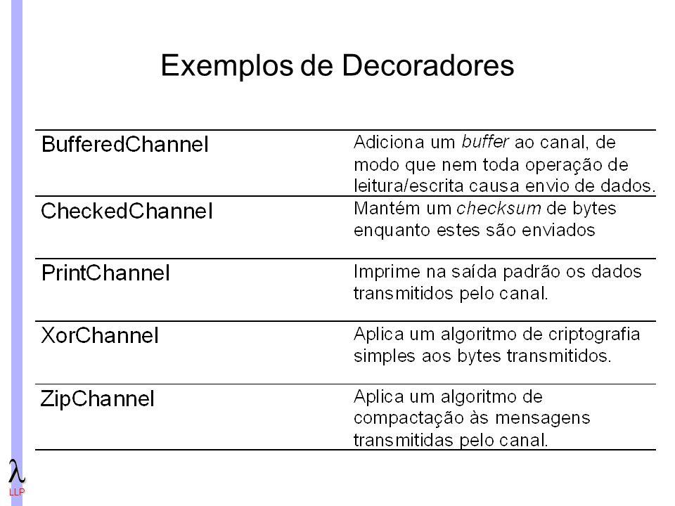 LLP Exemplos de Decoradores