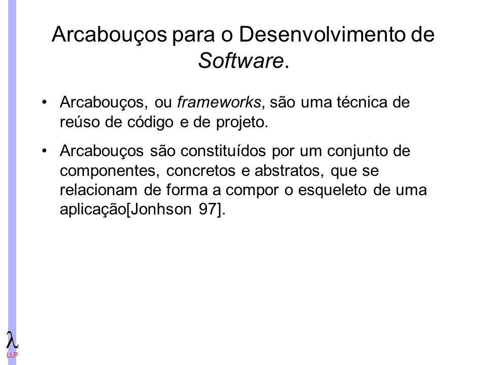 LLP Arcabouços para o Desenvolvimento de Software.