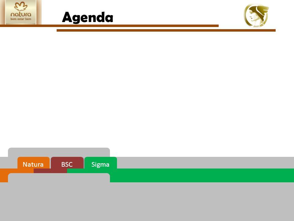 EAD612- Avaliação do desempenho organizacional O BSC na Natura foi implementado em 2002, mas se consolidou apenas em 2004/2005.