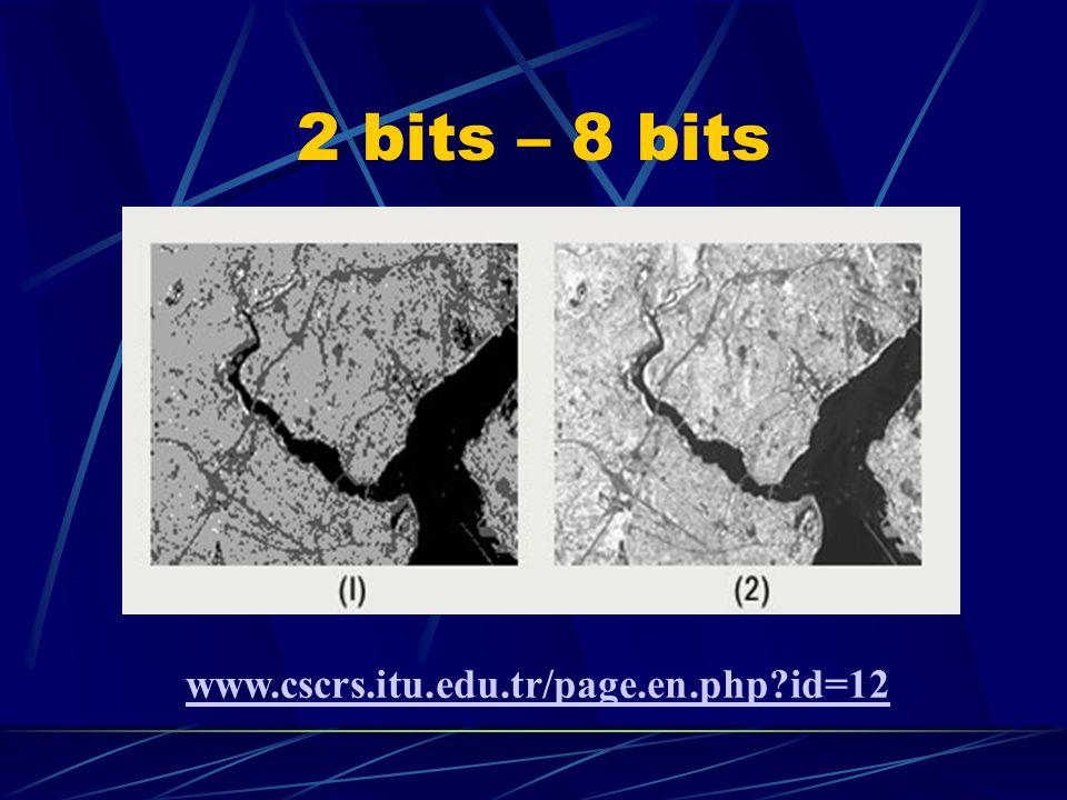 2 bits – 8 bits www.cscrs.itu.edu.tr/page.en.php?id=12