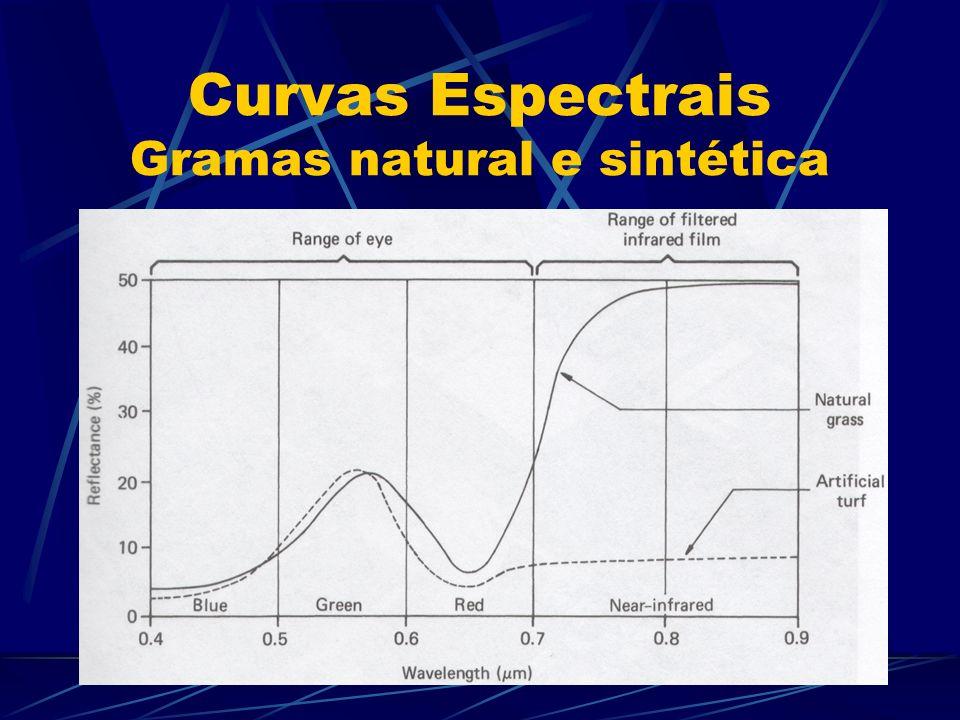 Curvas Espectrais Gramas natural e sintética