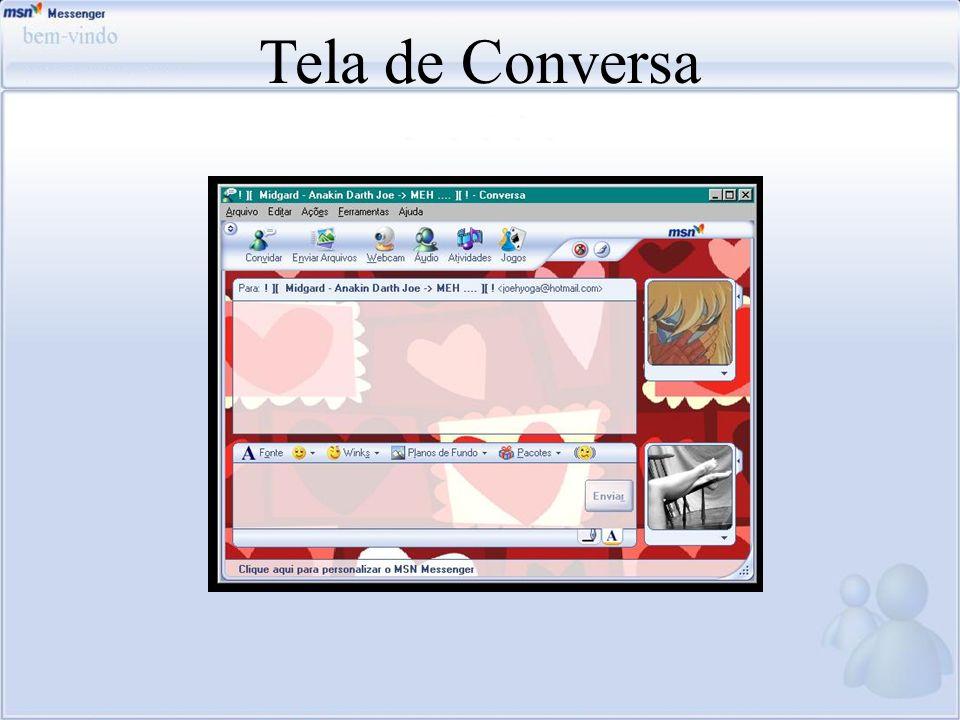 Tela de Conversa