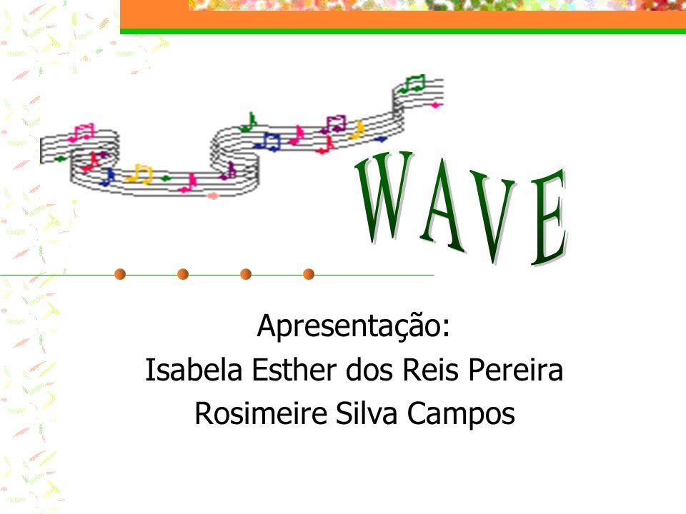 Apresentação: Isabela Esther dos Reis Pereira Rosimeire Silva Campos