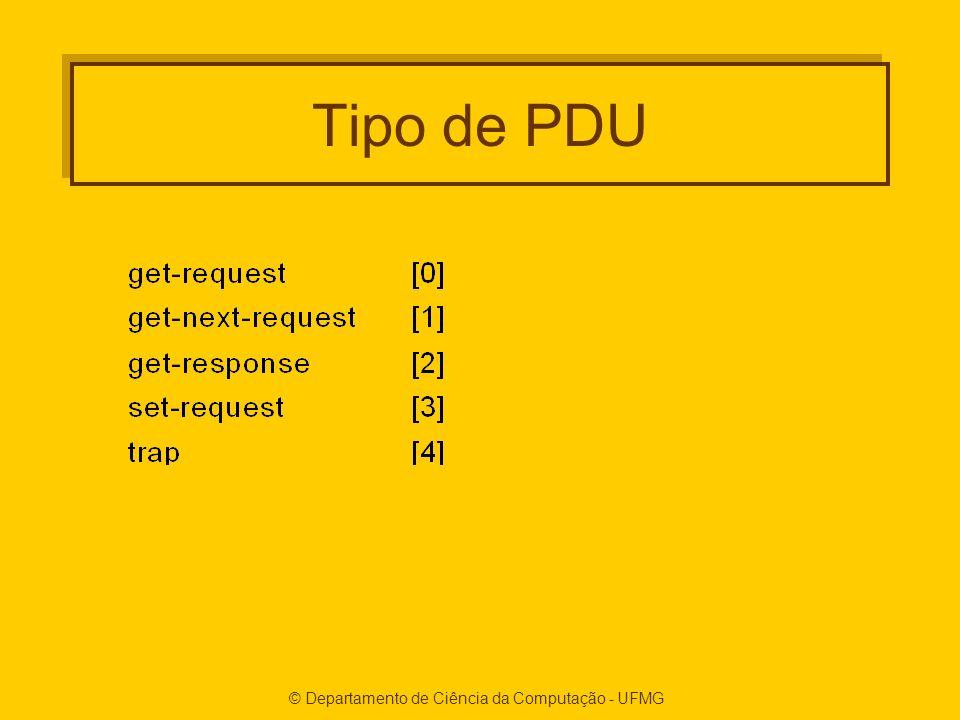 Tipo de PDU