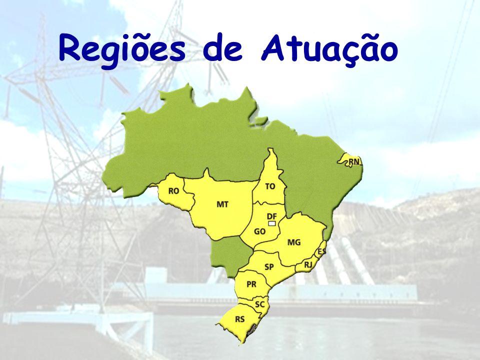 Regiões de Atuação