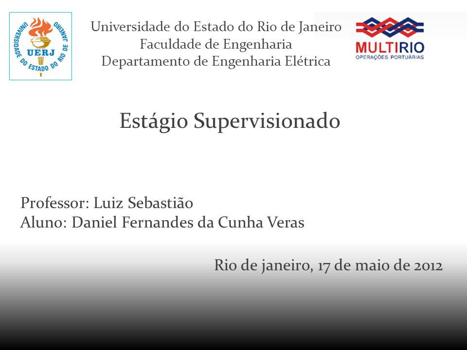 Universidade do Estado do Rio de Janeiro Faculdade de Engenharia Departamento de Engenharia Elétrica Estágio Supervisionado Professor: Luiz Sebastião