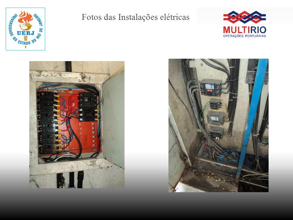 Fotos das Instalações elétricas