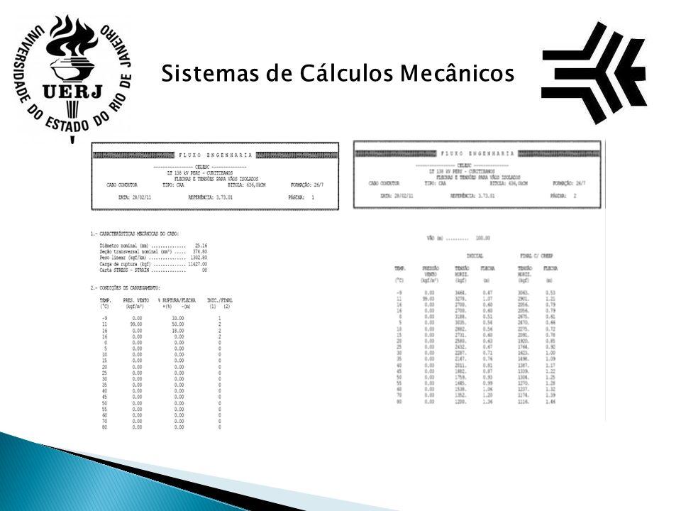 Sistemas de Cálculos Mecânicos