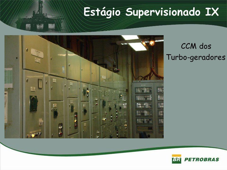 Estágio Supervisionado IX CCM dos Turbo-geradores