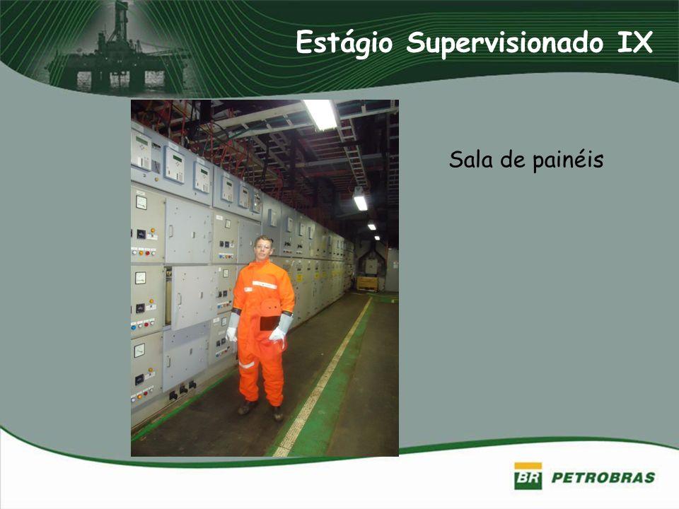 Estágio Supervisionado IX Sala de painéis