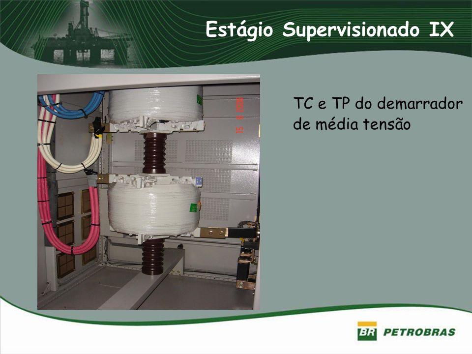 Estágio Supervisionado IX TC e TP do demarrador de média tensão