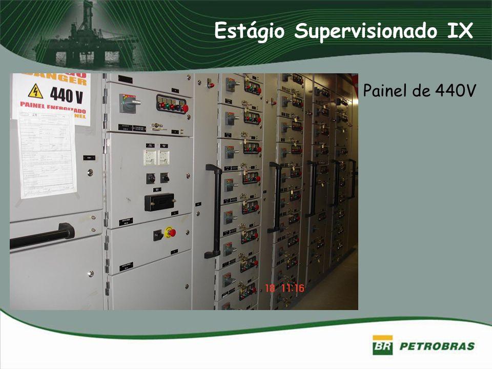 Estágio Supervisionado IX Painel de 440V