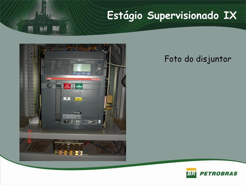 Estágio Supervisionado IX Foto do disjuntor