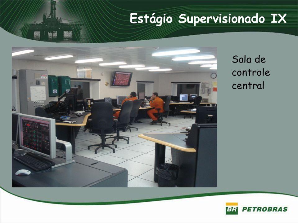 Estágio Supervisionado IX Sala de controle central