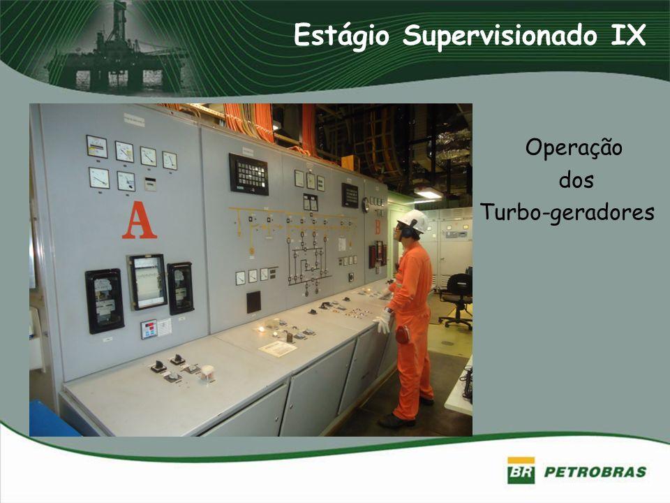 Operação dos Turbo-geradores Estágio Supervisionado IX