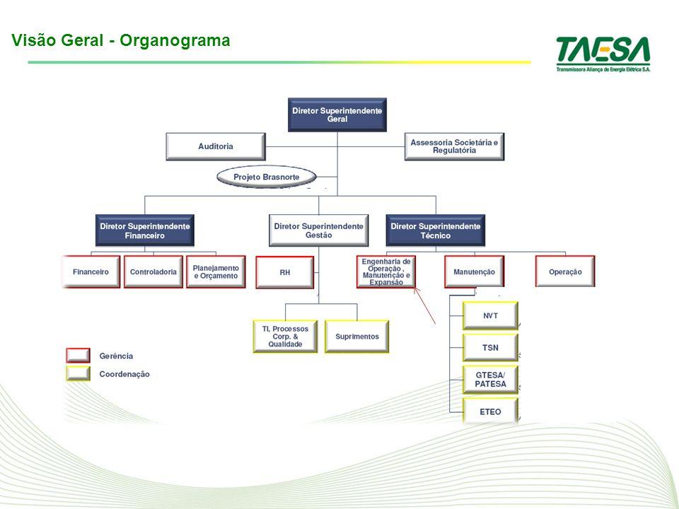 Visão Geral - Organograma