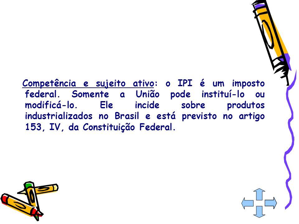 CONSTITUIÇÃO FEDERAL DOS IMPOTOS DA UNIÃO Art.153.
