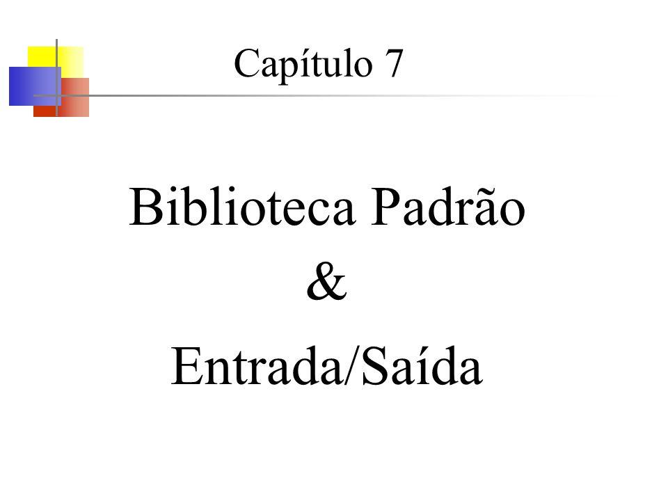 Saída formatada – printf (3)