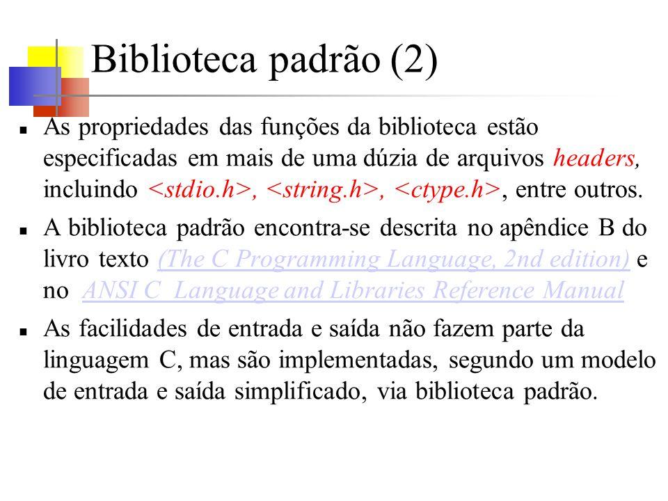 Acesso a arquivos (5) Se um arquivo que não existe for aberto para escrita ou anexação, ele é criado, se possível.