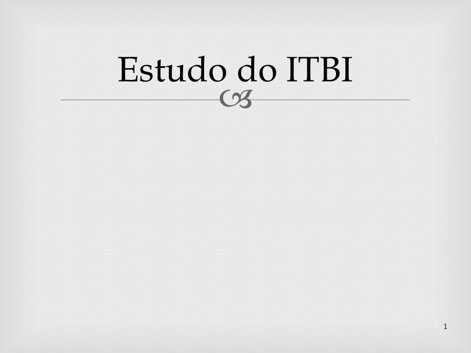Estudo do ITBI 1
