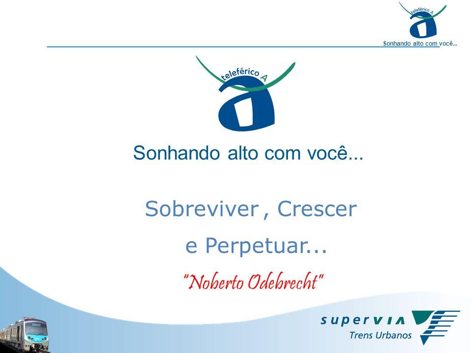 Sonhando alto com você... Sobreviver e Perpetuar..., Crescer Noberto Odebrecht
