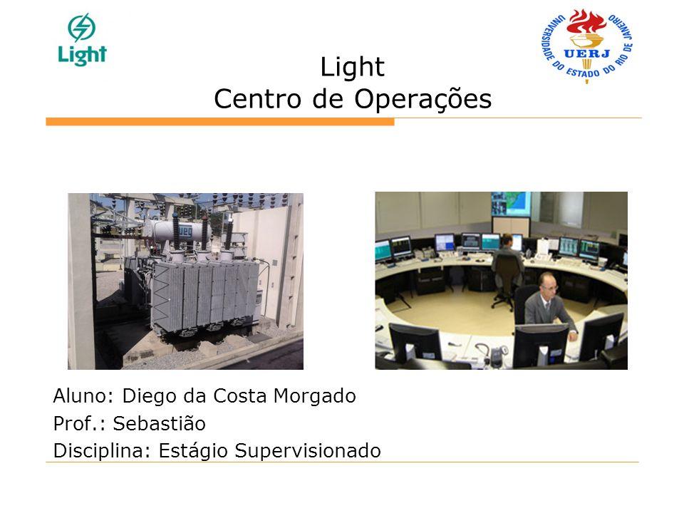 Light Centro de Operações Aluno: Diego da Costa Morgado Prof.: Sebastião Disciplina: Estágio Supervisionado