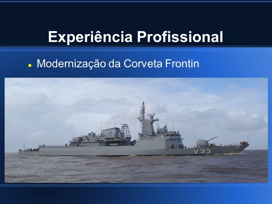 Experiência Profissional Modernização da Corveta Frontin