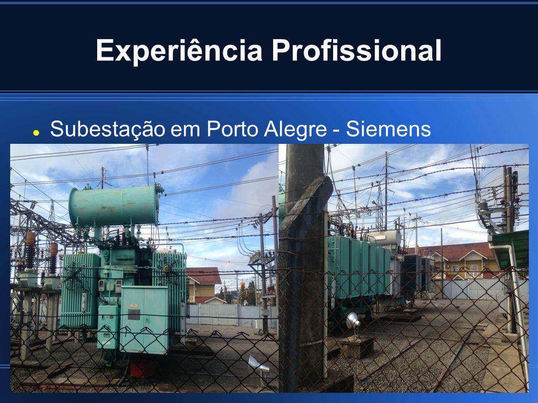 Experiência Profissional Petrobras- Plataforma P26 Atuando incialmente como operador de Elétrica, realizando manobras em barramentos, colocação de geradores de emergência para suprir falta de geração principal.