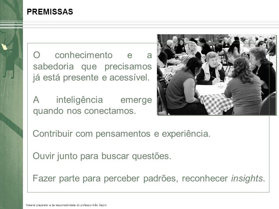 Material preparado e de responsabilidade do professor Arão Sapiro ABORDAGEM