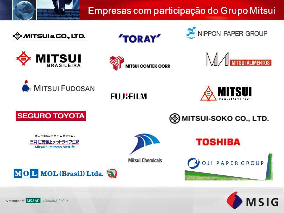 Empresas com participação do Grupo Mitsui