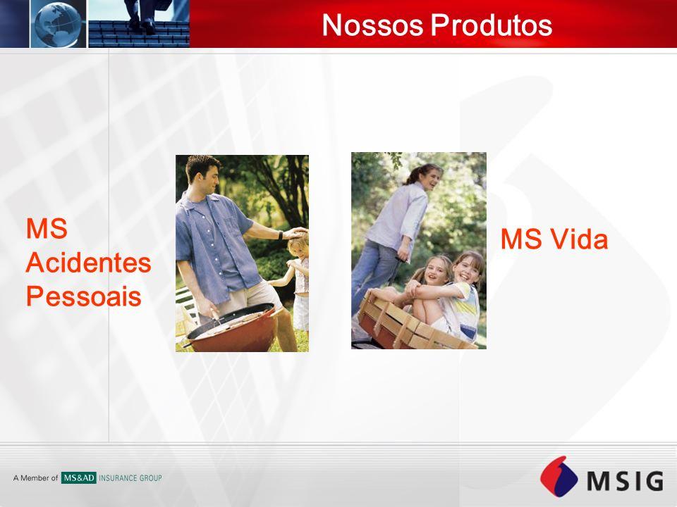 Nossos Produtos MS Acidentes Pessoais MS Vida