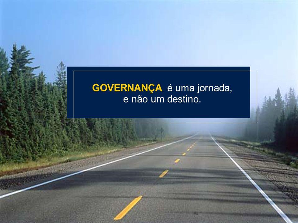 Material preparado e de responsabilidade da professora Elismar Álvares da Silva Campos NÚCLEO CCR DE GOVERNANÇA CORPORATIVA GOVERNANÇA é uma jornada,