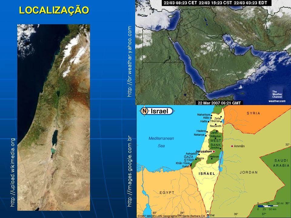 LOCALIZAÇÃO http://upload.wikimedia.org http://br.weathar.yahoo.com http://images.google.com.br