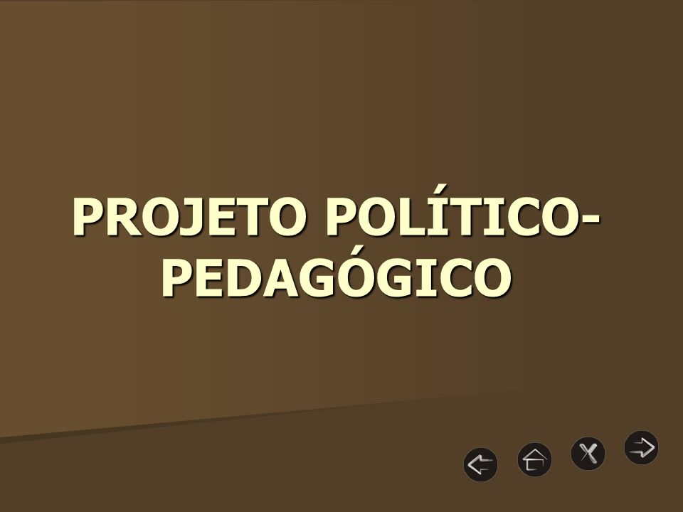 I - O conceito de projeto político- pedagógico É um processo de mudança e de antecipação do futuro, que estabelece princípios, diretrizes e propostas de ação para melhor organizar, sistematizar e significar as atividades desenvolvidas pela Escola como um todo.