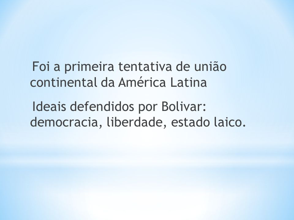 A partir da Guerra Fria (1945-1991) o Brasil passa a ser incluído como parte integrante da América Latina.