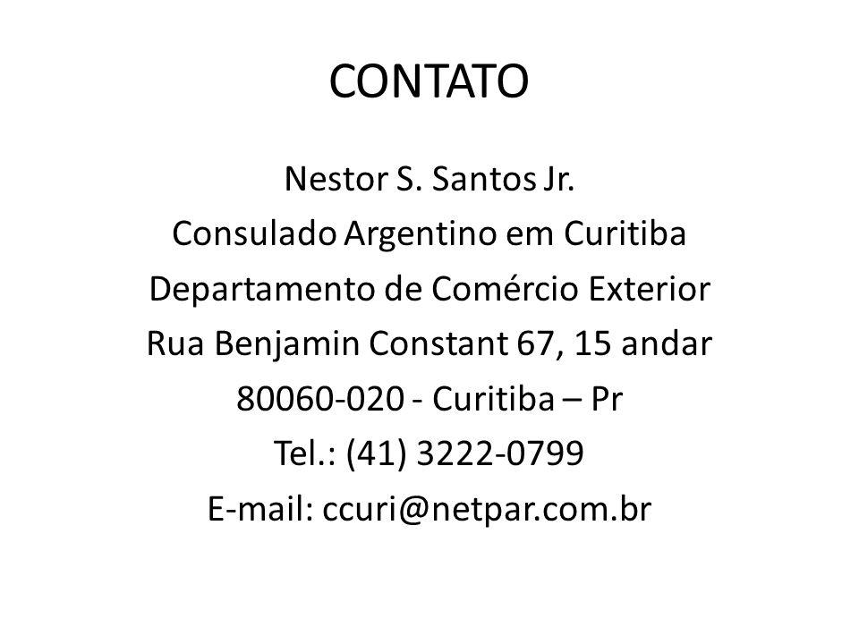 CONTATO Nestor S. Santos Jr.