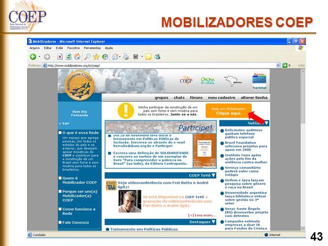 MOBILIZADORES COEP 43