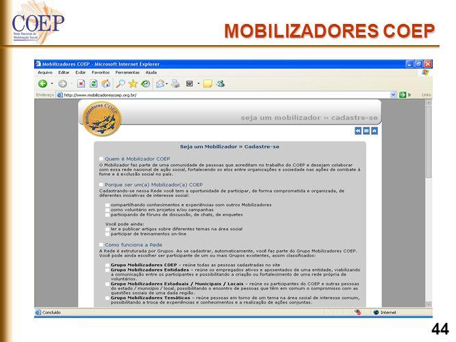 MOBILIZADORES COEP 44